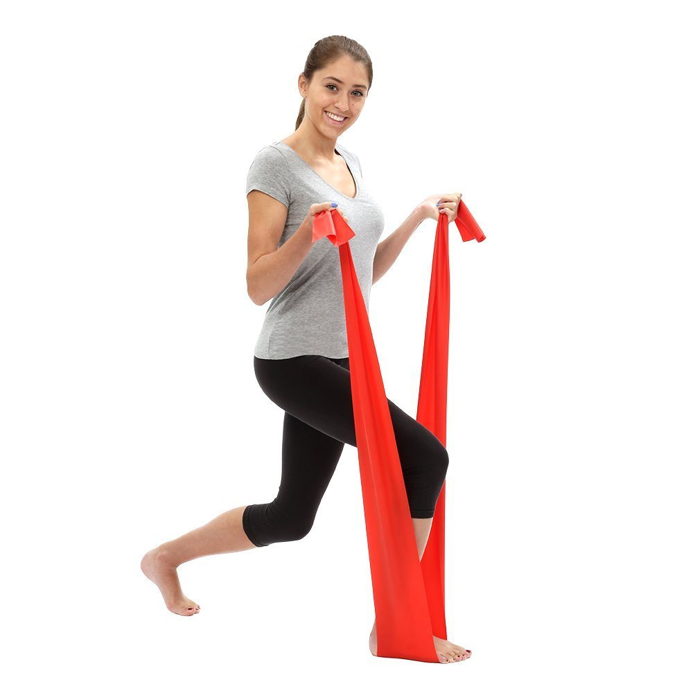 Multi Color Resistance Elastic Resistance Exercise Bands 1.8m Length