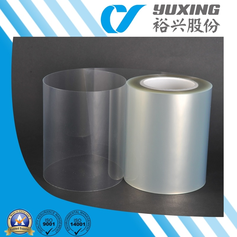Transparent Plastic Film Roll (CY18T)