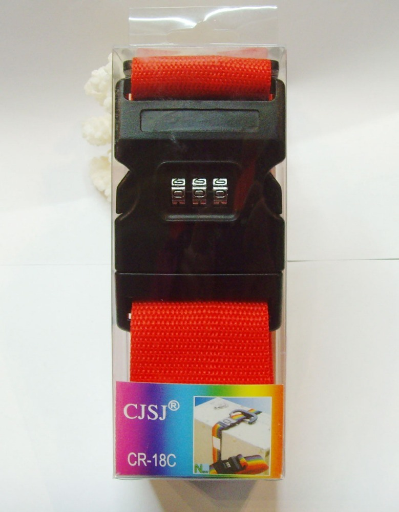 Luggage Straps with Tsa Lock