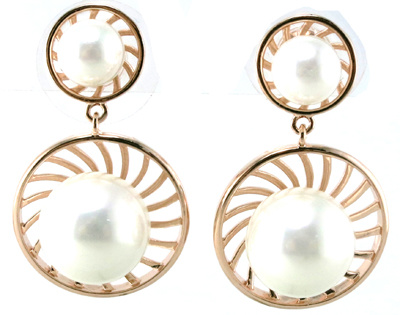 Elegant Design for Fashion Women′s Pearl Earring 925 Silver Jewelry (E6530)