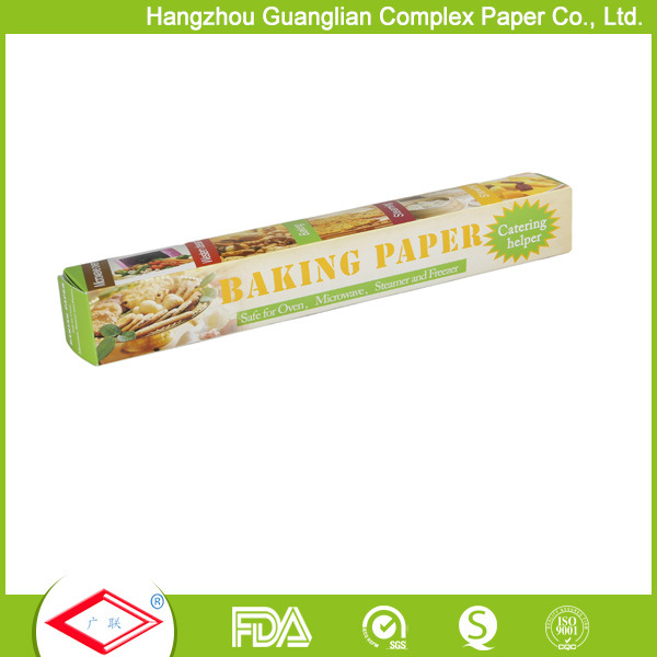 15 Inch Width Non-Stick Unbleached Parchment Paper Rolls for Food Baking