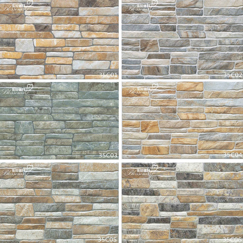 Exterior Ceramic Wall Culture Stone Tile for Villa (333X500mm)