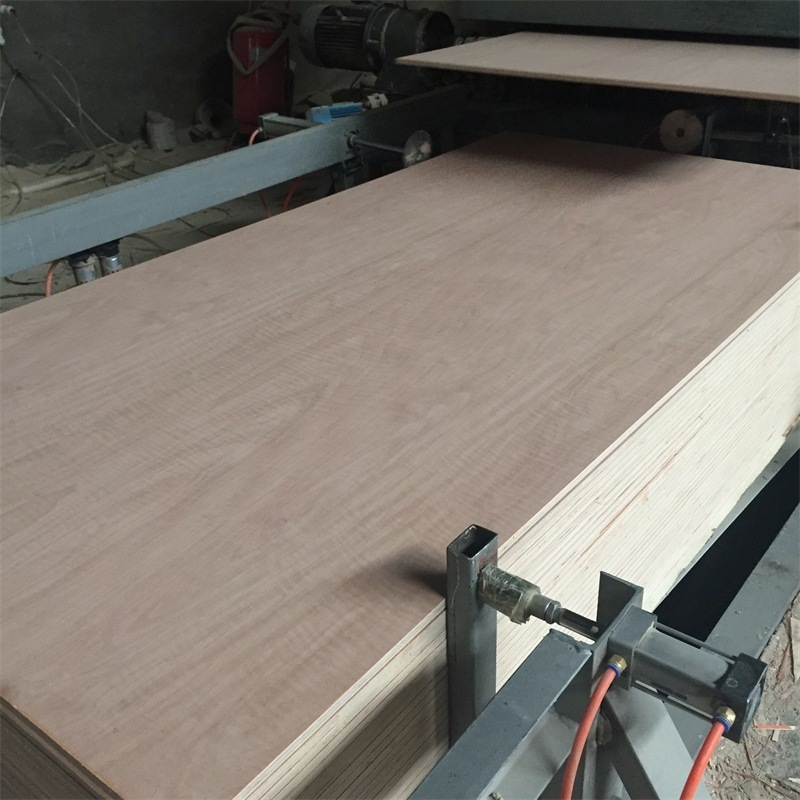 Red Hard Wood Face and Back Poplar Core Plywood 1250*2500mm