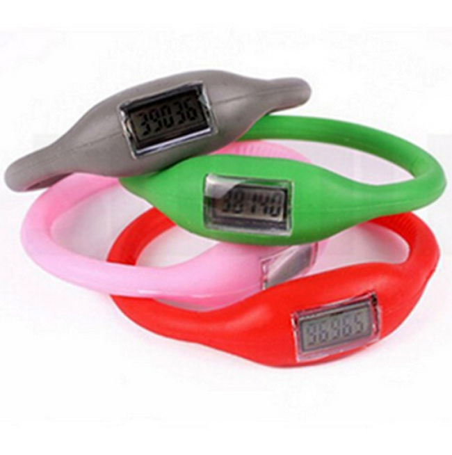 Kids Silicone Sport Watch with Logo Printed (4008)