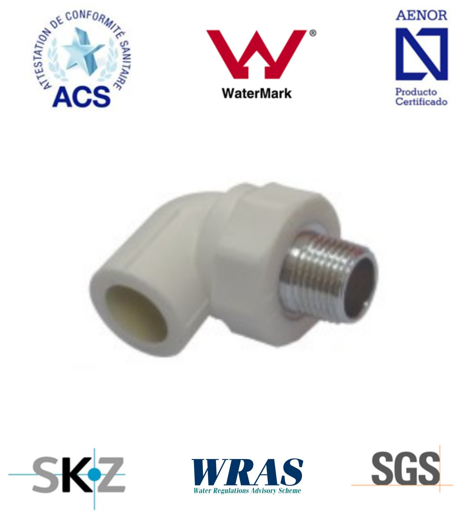 PPR Fitting - Pipe Fitting (Male Elbow)