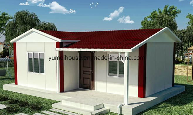 Light Steel Green Material Prefabricated House