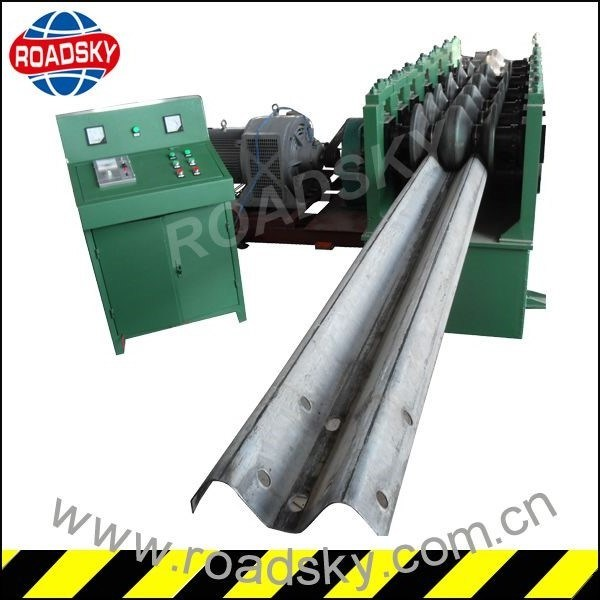 Highway Safety Mobile W Beam Guardrail Repairing Machine