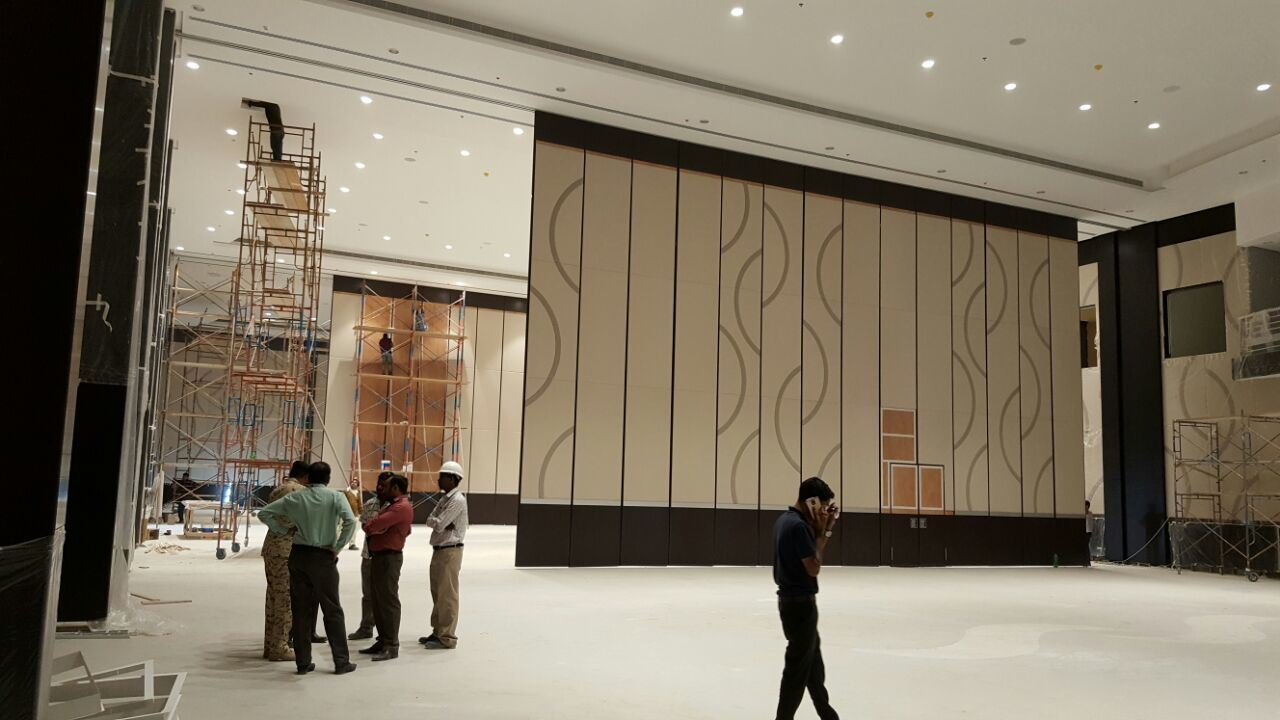 Acoustic Movable Partition Wall Systems for Conference Hall and Multi-Purpose Hall