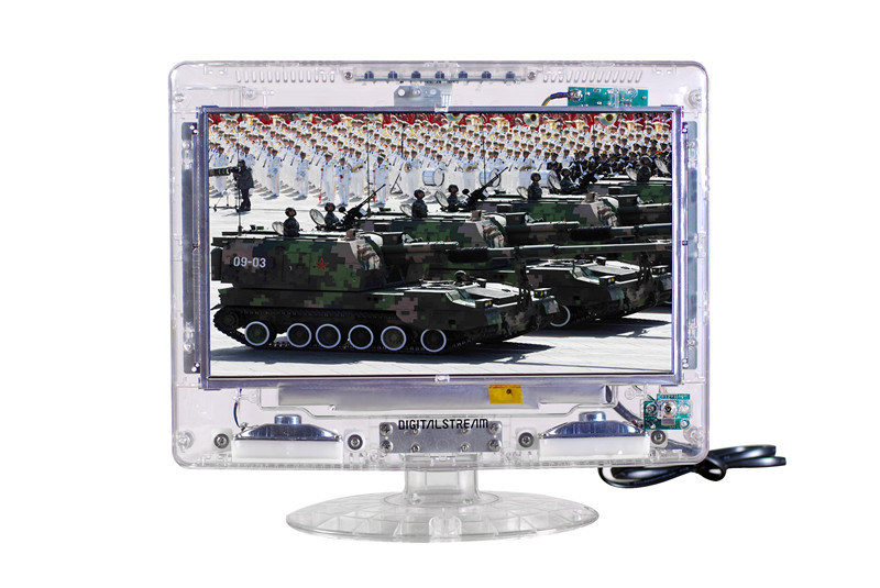 18.5 Inch Transparent TV with Worldwide TV System for ATSC NTSC