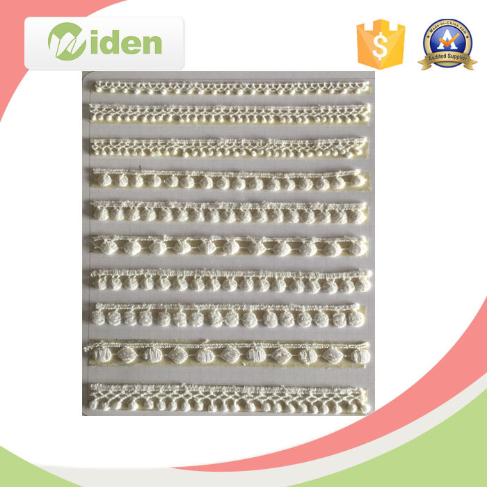 Factory Direct Cheap Cotton Embroidery Ladder Lace for Wholesale