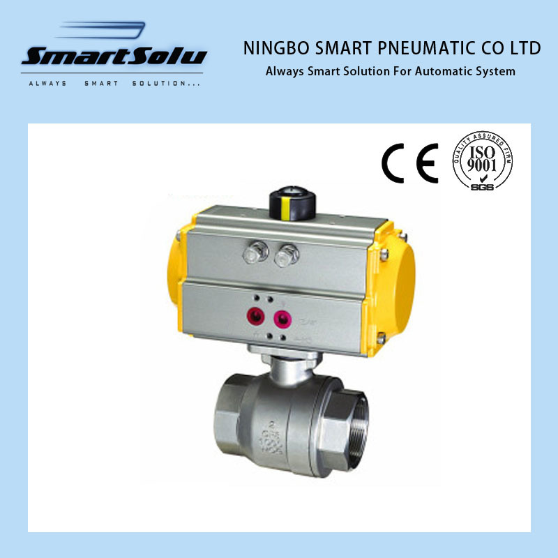 Pneumatic Screw Ball Valve Pneumatic Actuator