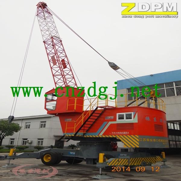Dock Electric Wheeled Mobile Crane