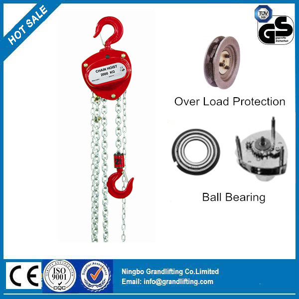 Zhc-a Hand Chain Vertical Hoist, Manual Block, Chain Hoist