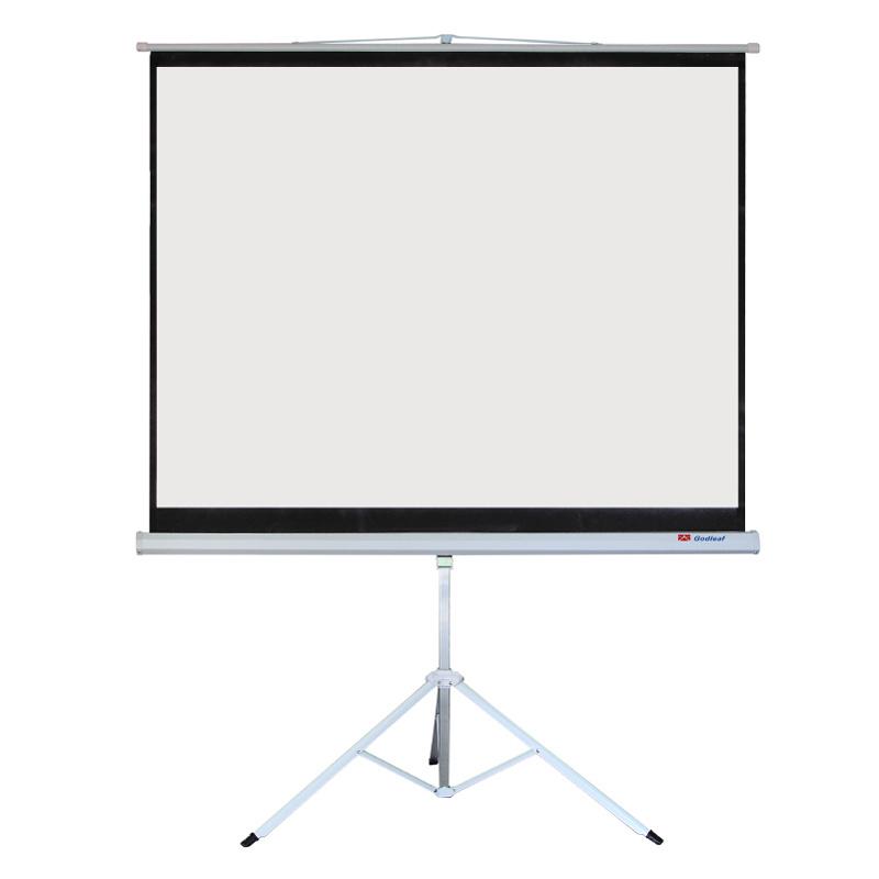 Tripod Screen Frame Curtain HD Screen Projector Screen 120 Inch