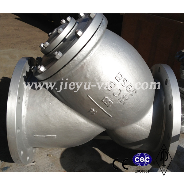 ANSI Carbon Steel Wcb Flange Y Strainers