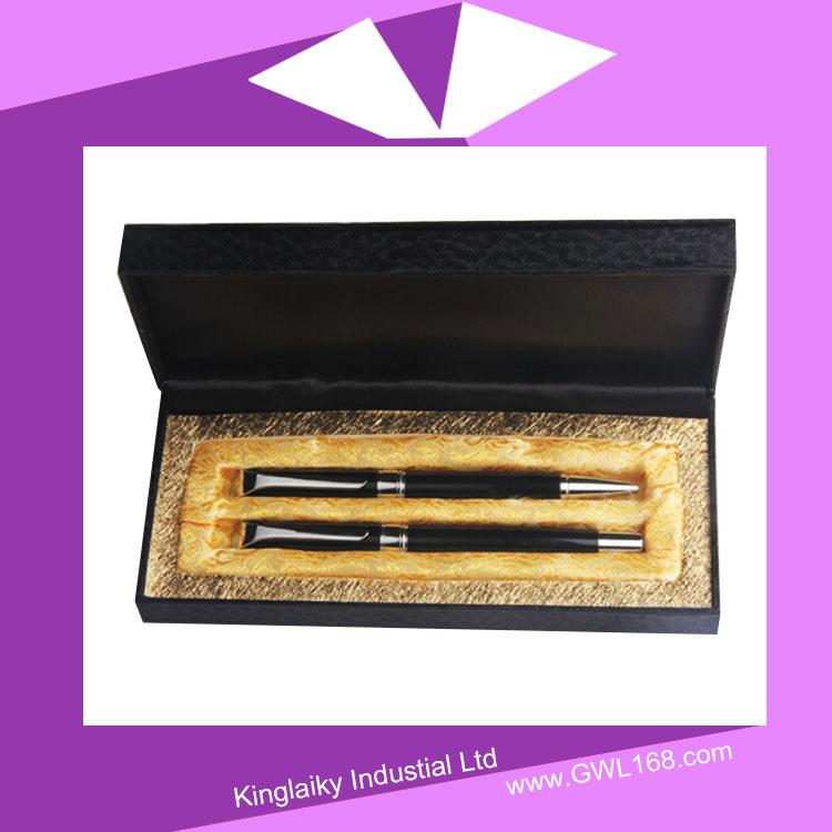 Metal Gel Pen with Ballpoint Pen in Set Kp-036