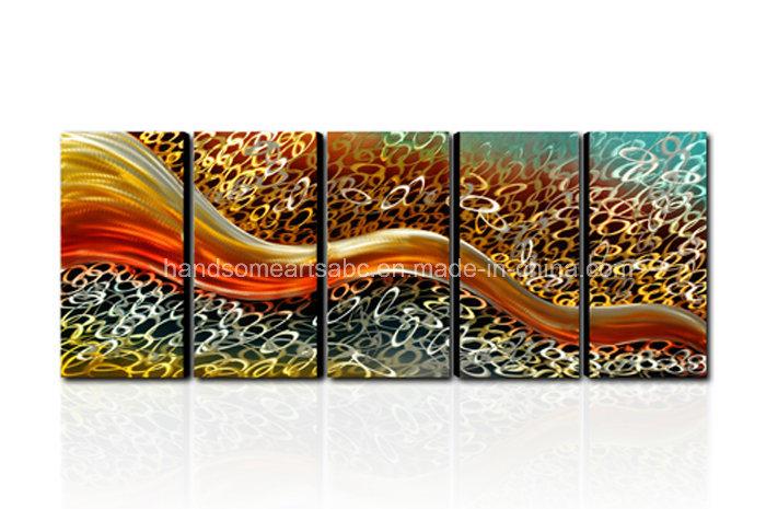 100% Handmade Abstract New Design Metal Wall Art