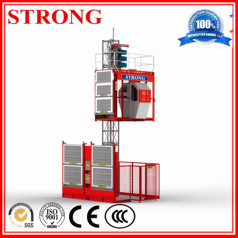 Sc100/Sc200 Building Machinery Construction Hoist Elevator Lifting