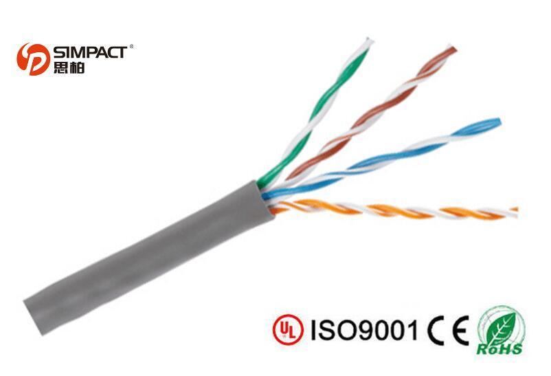 Pure Copper Stranded UTP Cat5e Patch Cord