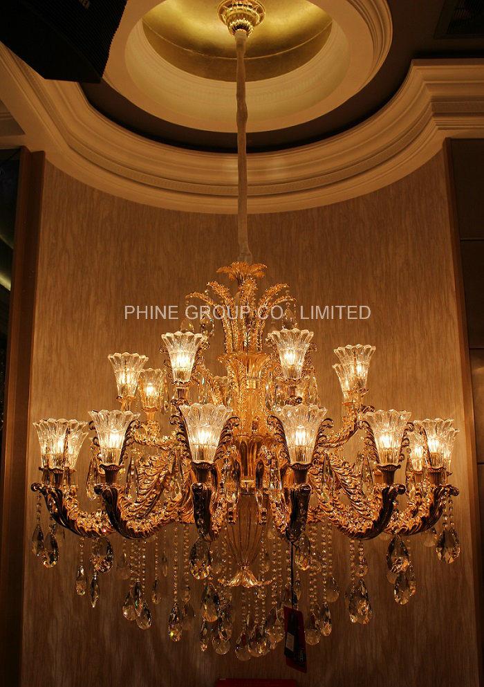 Modern K9 Crystal Decoration Chandelier for Home or Hotel