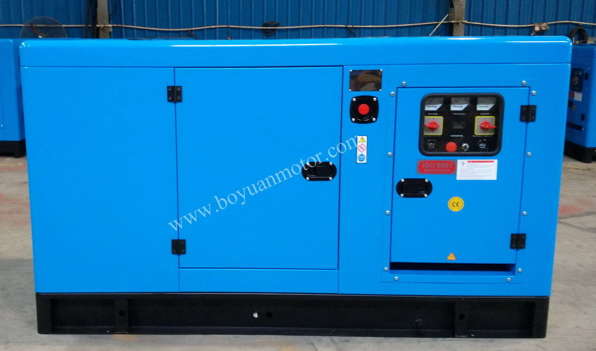 50kw Portable Diesel Generating Powered by 4 Stroke Diesel Engine
