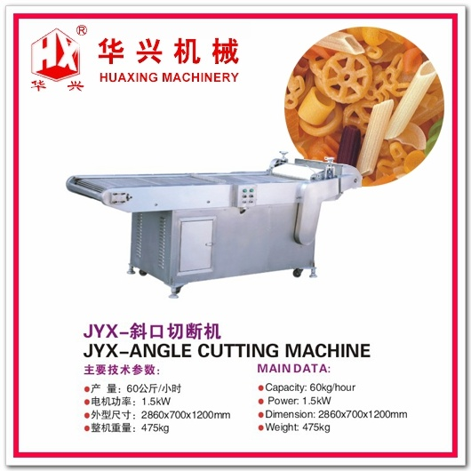 Jyx-Angle Cutting Machine (Snack Cracker Pellet Cutting Machine/Pellet Extrusion System)