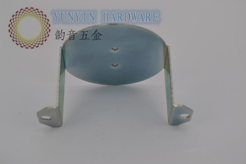 Zinc Plated Metal Stamping Parts Used in LED Lamps