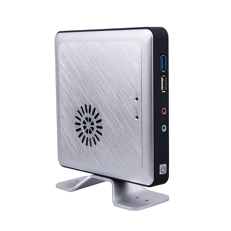 Intel Celeron J1800 Dual-Core Fanless Mini PC (JFTCK620M)