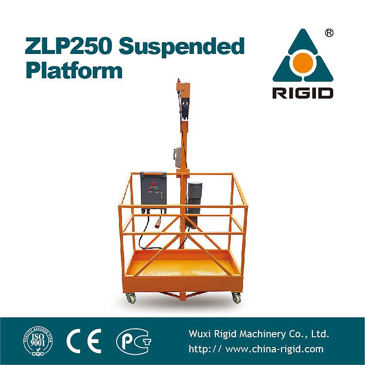 Steel / Aluminum Suspended Platform / Cradle / Gondola / Zlp250