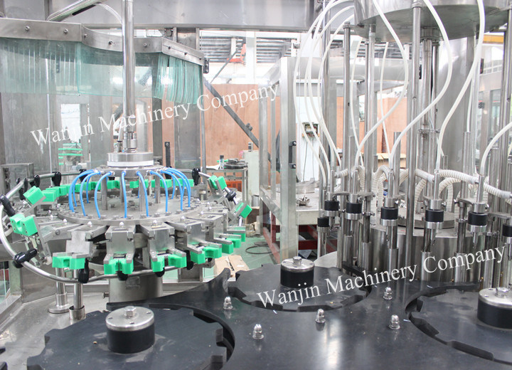 Full Automatic Wine Liquor Glass Bottle Filling Line