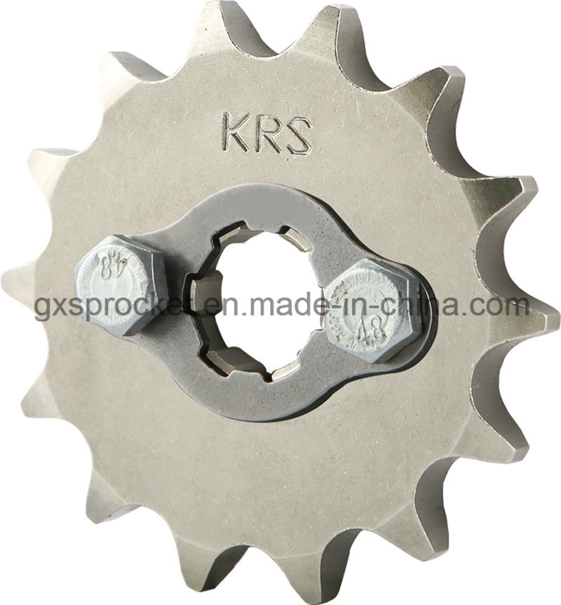 Front Sprocket Motorcycle for Honda Wh100/Wh125-6/Wy125-S/Wh125-13