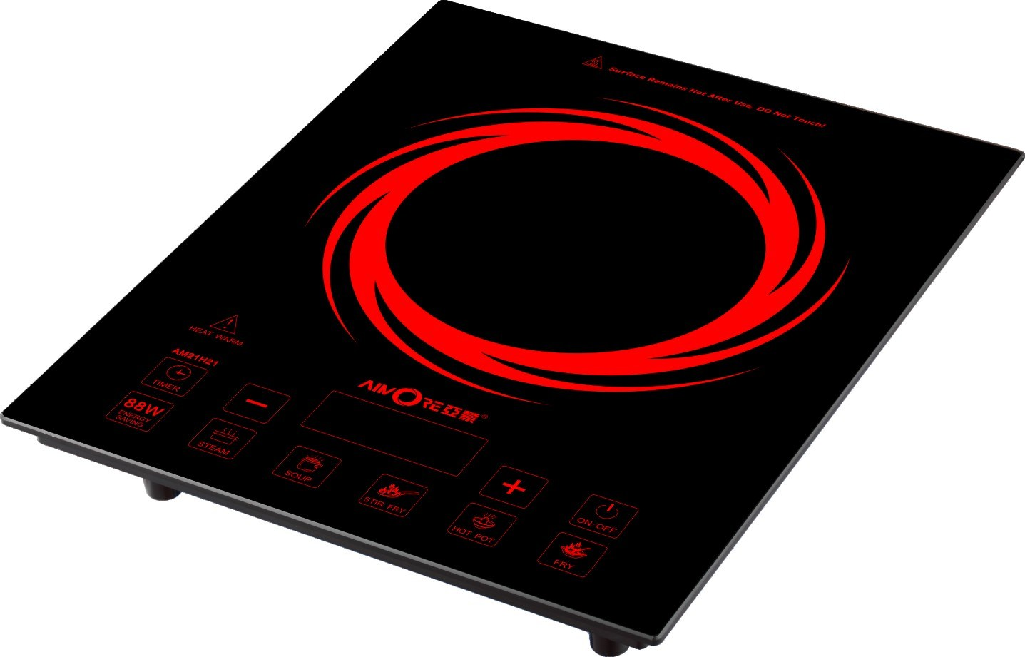 china 2100w abs plastic cover touch control imported igbt induction hotplate copper coil. Black Bedroom Furniture Sets. Home Design Ideas
