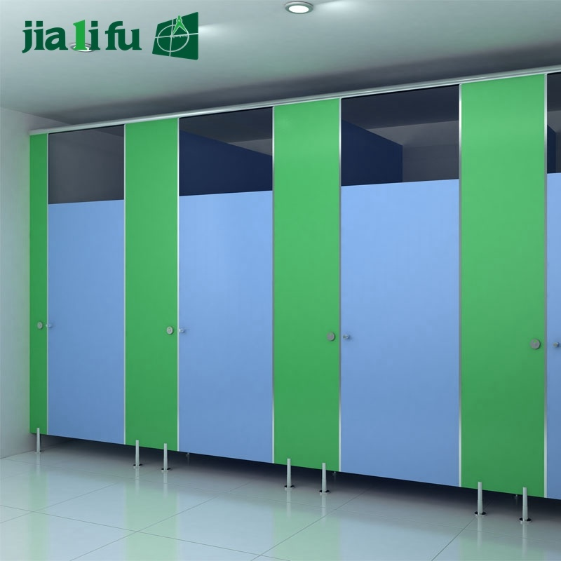 Jialifu Economical Waterproof Nylon Hardware Toilet Cubicle