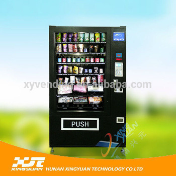 New Type Vending Machine Snack/Bottled Water Vending Machine