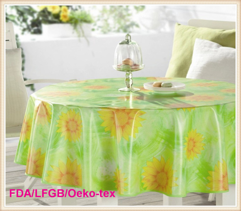 PVC Printed Table Cloths in Roll Wholesale
