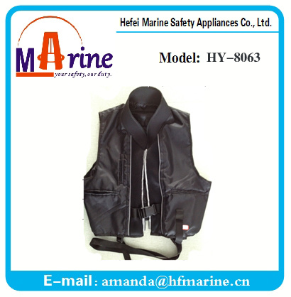 New Design 150n Built-in Inflatable Life Vest for Fishing