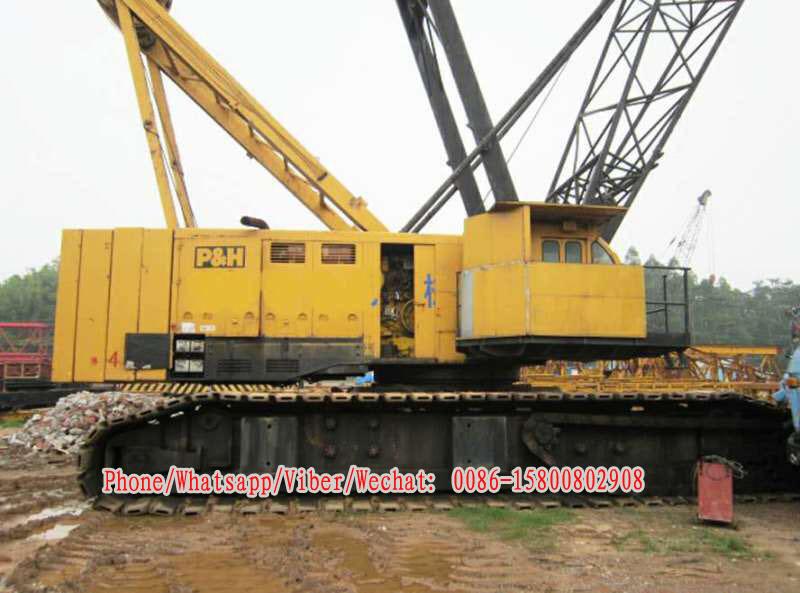 Used Kobelco 300t Cralwer Crane Kobelco P&H 5300A Crawler Crane for Sale