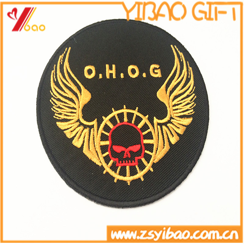 Custom Logo Embroidery Woven Patch for School Uniform (YB-pH-04)
