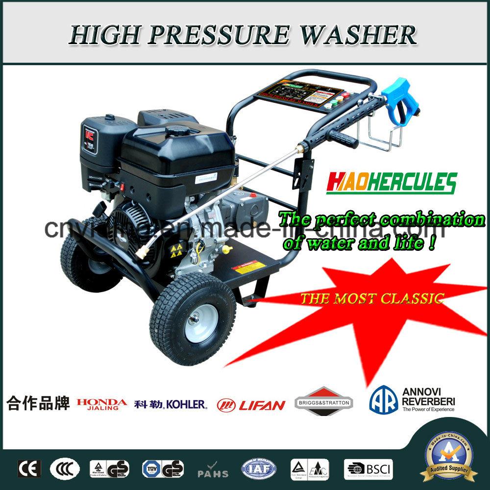 15HP Lifan/Shineray/Kohler/Honda/BS Gasoline Engine 275bar Pressure Washer (HPW-QP1500L)