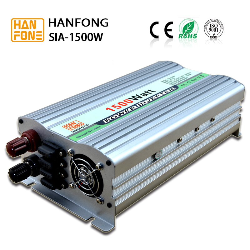 Frequency 1500W China Manufacturer Power Energy Inverter Full Protection