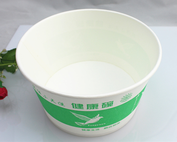 Disposable Noodle Paper Bowl for Cup Noodles