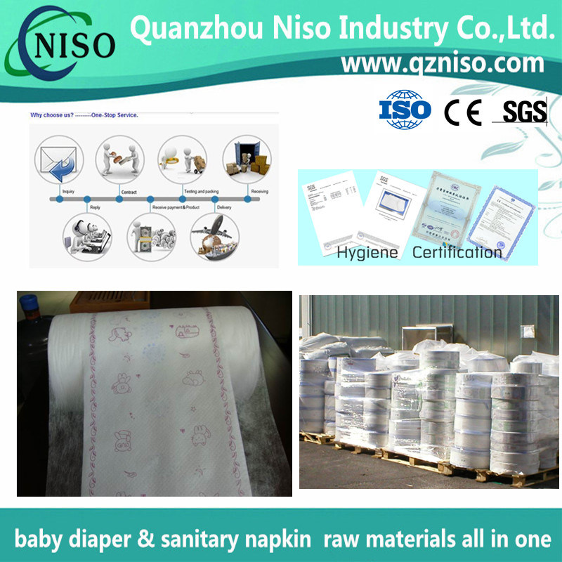 Breathable Soft Laminated Diaper Backsheet Film with SGS (CM-053)