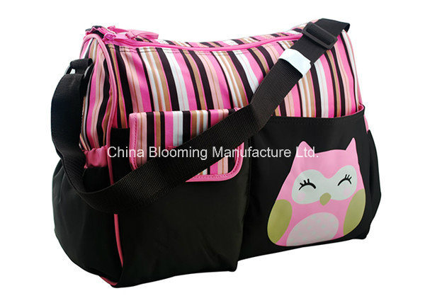 Lovely Nappy Mummy Handbag Changing Pad Baby Girl Diaper Bags