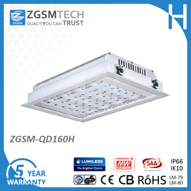 Explosion Proof 160W LED Recessed Light for Gas Station