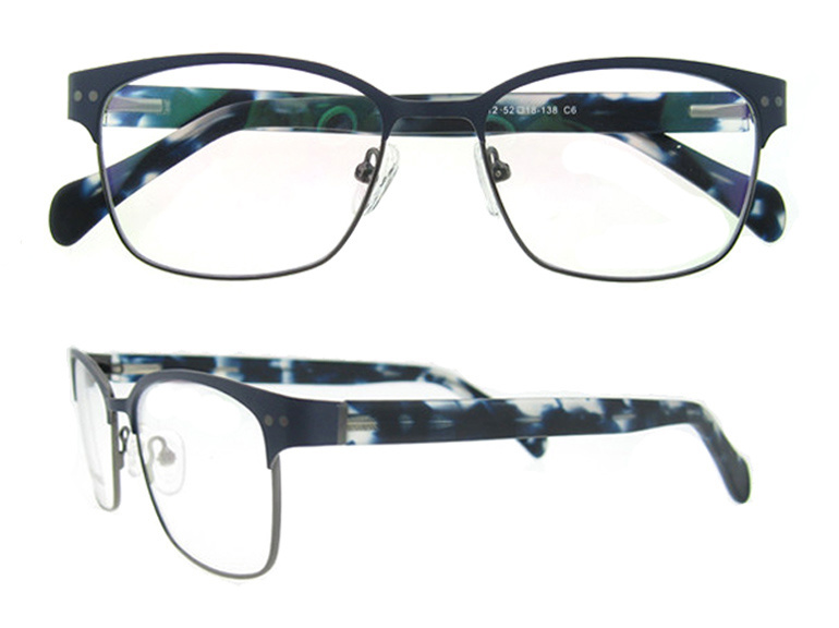 2016 Most Popular Fullrim Stainless Eyeglass Frames Spectacle for Men and Women