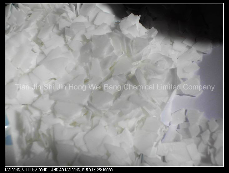 99%-96% Sodium Hydroxide/Caustic Soda Flakes Naoh