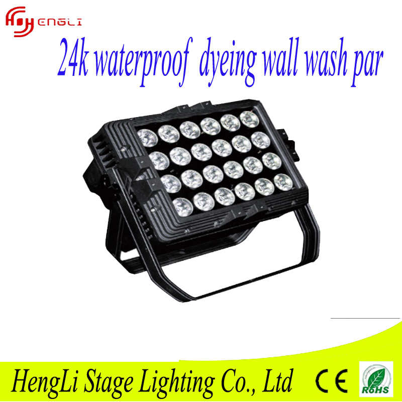 New 24PCS*10W RGBW 4in1 Waterproof LED PAR Light & Effect Light