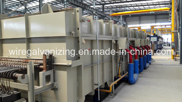 Stainless Steel Wire Bright Annealing Heat Treatment Furnace with Ce Certifed
