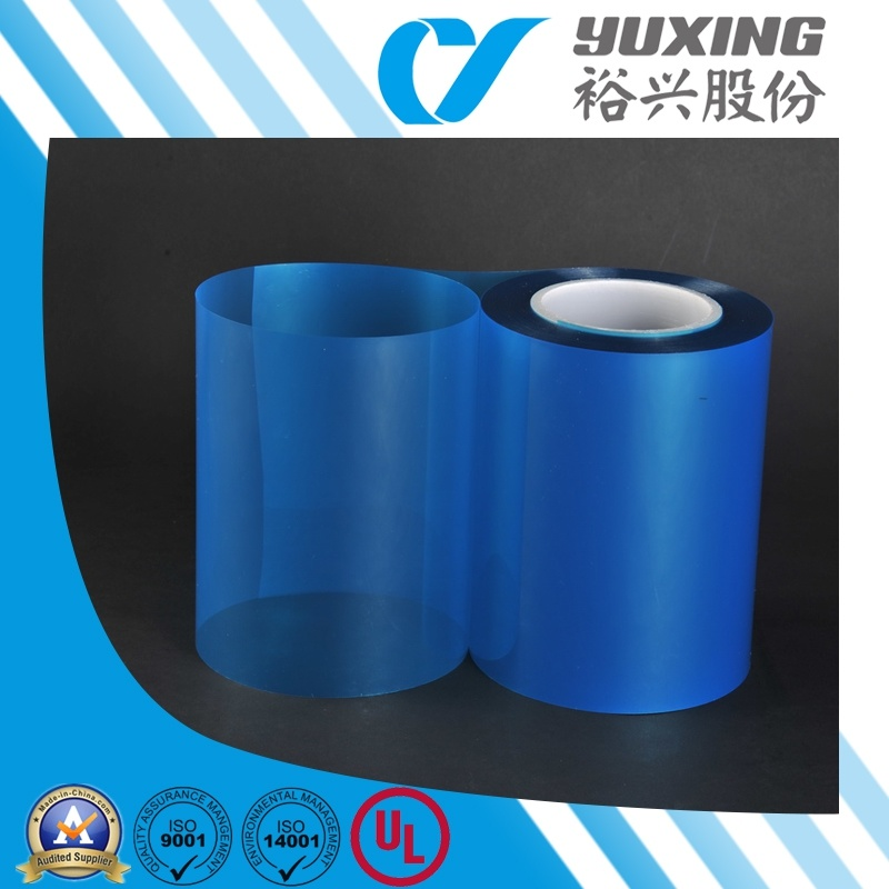 Heat Resistent Insulation Clear Blue Mylar Film Roll (CY20L)