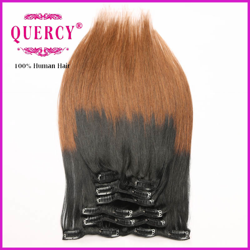 Wholesale Unprocessed Premium Brazilian Clip Hair
